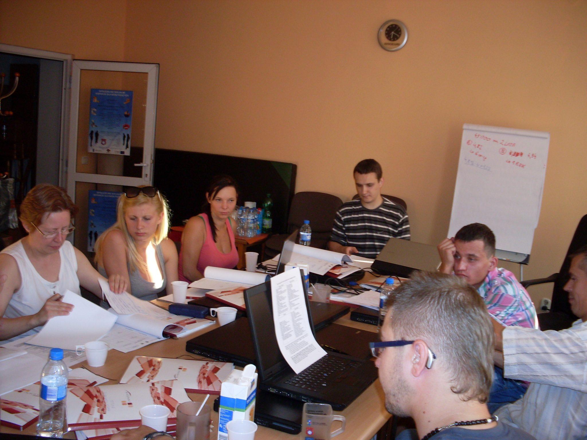 Szkolenie z przedsiębiorczości z elementami rachunkowości