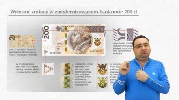 Zmiana wyglądu banknotu 200 zł